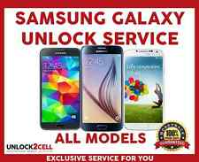 Unlock Code Samsung Galaxy S6 S5 S4 S3 Note 5 4 3 2 Core Alpha Bell Virgin