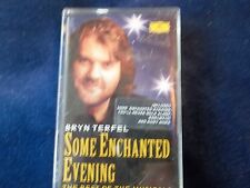 1996 AUDIO CASSETTE-BRYN TERFEL-SOME ENCHANTED EVENING-AS NEW