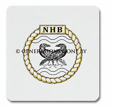 NAVY HISTORICAL BRANCH GLASS KITCHEN CHOPPING BOARD