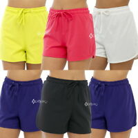 Ladies Twin Pack Jersey Shorts Womens Hot Pants Lounge Shorts Cotton Sizes 8-18