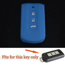 3BTNS Smart Remote Key Cover Case Holder for MITSUBISHI Lancer/Outlander EX ASX