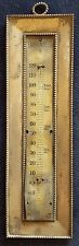 """Antique sterling """"Blood Heat"""" Fahrenheit thermometer 2705"""