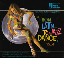 The Rare Tunes Collection-From Latin To Jazz Dance-(Vol 4)-CD-Digipak-RG2015CD