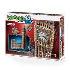 Wrebbit Big Ben Y Parlamento 3d Rompecabezas (890 Piezas)