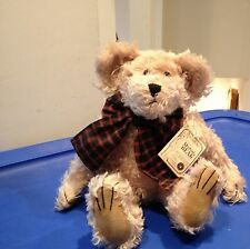 Boyds Bears Retired Mohair Bear Fitzgerald Q Bearington