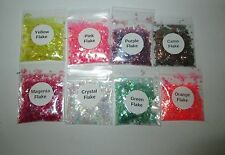 Iridescent Flake Glitters ~ Acrylics ~ Gels ~ Perfect for Natural & False Nails