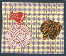 PANINI FOOTBALL LEAGUE 1996- #385-A-B-CREWE ALEXANDRA/HULL CITY-TEAM BADGES-FOIL