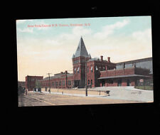 New York Central Station in Rochester NY postcard 1907