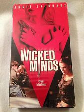 Wicked Minds (PV VHS) Angie Everhart, Andrew Walker, Amy Sloan RARE HTF