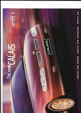 HOLDEN CALAIS SERIES II V6 & V8 MODELS AUSTRALIAN BROCHURE AUG. 1999 FOR 2000