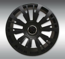 SPOFEC SP1 Matte Black Wheels with Tires - Rolls Royce Ghost / Wraith