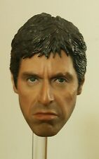Blitzway Scarface Al Pacino Tony Montana 1/6 Scale Head Sculpt PERFECT MINT