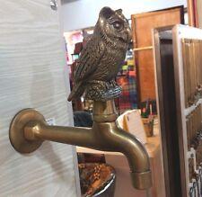 Spigots Toilet Faucet Handle Brass Vintage Water TAP Long Owl Wash Bowl DECOR