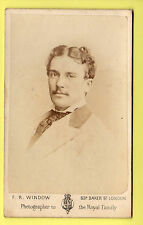 CDV - Actor Henry James Montague - F. R. Window - London
