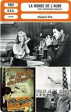 Fiche Cinéma. Movie Card. La ronde de l'aube / The tarnished angels (USA) 1957