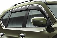 Nissan X-Trail (2014  ) Wind Deflector Set - Chrome Finisher (H08004CC0A)