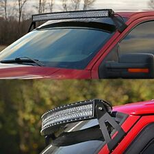 Vehicle 50inch Curved Light Bar Windshield Mount Bracket For GMC HEAVY DUTY ROOF