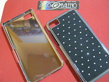 CUSTODIA HARD CASE RIGIDA PER SAMSUNG GALAXY ACE PLUS GT S7500 COVER NERO NUOVO