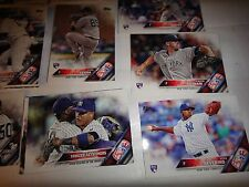 2016 TOPPS BASEBALL, SERIES ONE AND TWO SINGLES===PICK 100