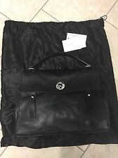 YVES SAINT LAURENT Black Leather Large MUSE Bag