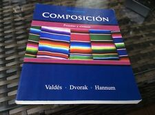 Composición : Proceso y Síntesis by Thomasina Pagan Hannum, Trisha Dvorak and Gu