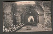 Italy unmailed post card Sacellum Mitriacum /The Thermae of Caracalla/Ripostelli