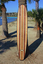 7FT Wood Surfboard Longboard Wall Art Beach California Surf Bar Top Table Top