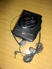 Sony, Walkman WM-EX36 Mega Bass [ Cassette player only ] Serial No: 217750 Black