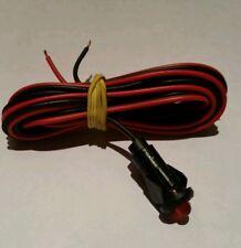 ALLARME Auto Di Ricambio Luce LED luminoso rosso 12v Dash di montaggio