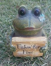 The Frog mold for plaster or concrete LATEX ONLY fishin for flies