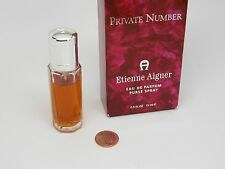 ETIENNE AIGNER PRIVATE NUMBER WOMEN EAU PARFUM/PERFUME.5oz/15mlSprayHARD TO FIND