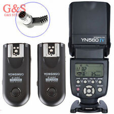 Yongnuo YN-560 IV Flash Speedlite + RF-603II Trigger N1 for Nikon D800 D700 D300