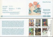 Finland 1990 Used Booklet Fairy Tale Illustrator Rudolf Koivu - First Day Cancel