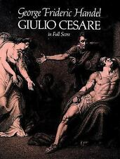 Giulio Cesare in Full Score, George Frideric Handel