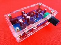 Portable Headphone Amplifier Board Kit AMP Module Kit For Classic 47 DIY + Case