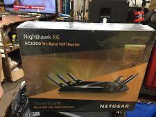 NEW IN BOX NETGEAR AC3200 Nighthawk X6 Tri-Band WiFi Router (R8000)