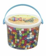 Perler BIGGIE Fun Fusion Fuse Bead Bucket-Assorted Colors, New, Free Shipping