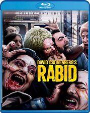 RABID New Sealed Blu-ray Collector's Edition David Cronenberg