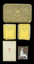 WW1 BRITISH PRINCESS MARY CHRISTMAS TIN 1914 COMPLETE WITH CONTENTS