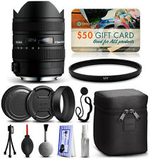 Sigma 8-16mm F4.5-5.6 DC HSM Lens for Sony + Starter Accessory Kit 203205