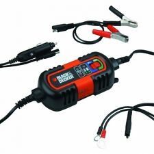 Cargador / Mantenedor Baterias 6 - 12 V. Battery Charger BLACK & DECKER BDV090