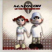 (CN348) Mark'Oh, Let This Party Never End - 2002 DJ CD