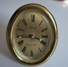 Vintage Kienzle Quartz- Alarm Tischuhr / Kaminuhr / Uhr  60er Made in Germany