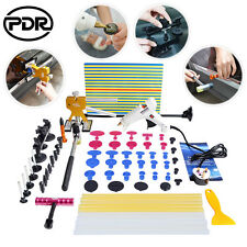 63x Paintless Dent Removal PDR Dent Lifter Line Board Dent Hammer Puller Bridge