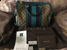 GUCCI  GG Boston Bag Used