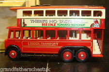 LLEDO MODEL LP41 KARRIER E6 TROLLEY BUS LTD EDT LONDON TRANSPORT HEINZ TOMATO