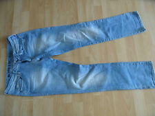 G-STAR coole helle Jeans NEW REESE STRAIGHT Gr. 29/32 TOP  415