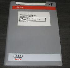Werkstatthandbuch Audi A4 B5 Quattro Kraftstoffversorgung Diesel Motor ab 1995!