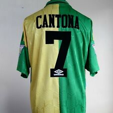 Manchester United Away/3rd Shirt Adult XL CANTONA #7 1992/1994 Newton Heath