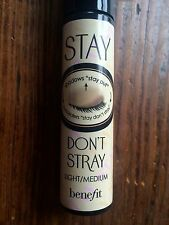 Benefit Cosmetics AUTHENTIC Stay Don't Stray Light Medium Primer Full Size 10 mL